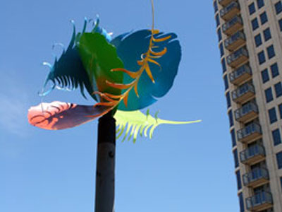 Public Commission Feathers in the Wind