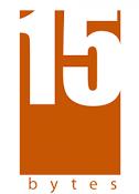 15 Bytes Logo